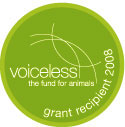 Voiceless the animal protection institute Grants Badge 2008